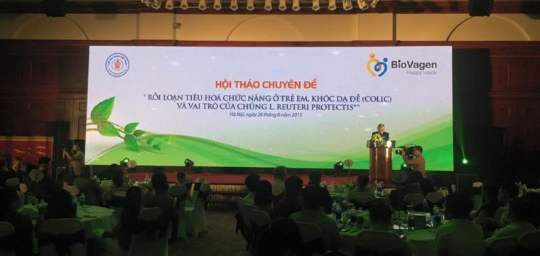 BioGaia tổ chức lễ ra mắt tại Grand Plaza, Hà Nội.